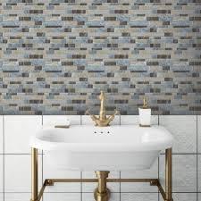 Stick On Tiles For Backsplash by Modern Modest Sticky Backsplash Tile Stick Tiles Peel And Stick