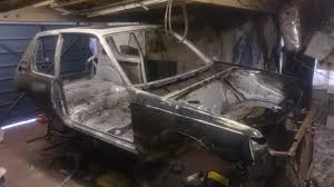 peugeot 205 gti peugeot 205 gti blasted and primed low pressure blasting