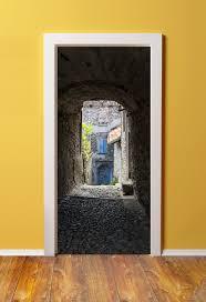 32x80 Exterior Door by Amazon Com 32x80 Canvas 3d Door Sticker Murals Peel U0026 Stick