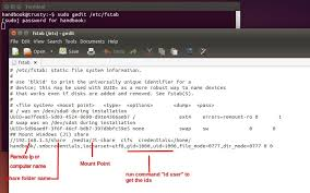 use map drive how to map a drive onto ubuntu 14 04 permanently