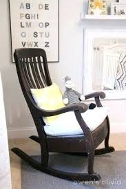 Wooden Nursery Rocking Chair Nursery Rocking Chair Tahrirdata Info