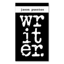 Writer Business Card Chevron Stripes Technical Writer Business Card Technical Writer