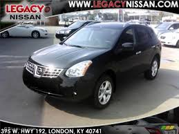 2010 Wicked Black Nissan Rogue Sl Awd 34850991 Gtcarlot Com