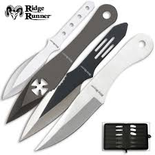 24 piece ridge runner throwing knives set budk com knives