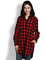 womens plaid flannel shirt small red at amazon women u0027s clothing store