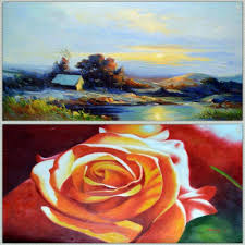 still life landscape oil painting on canvas wall art