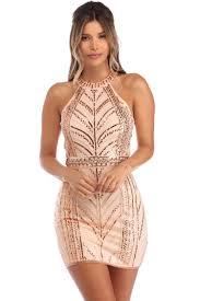 sequin dresses terra sleeveless sequin dress