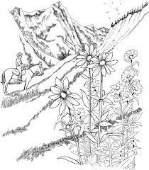 free printable coloring pages for adults landscapes grab a cup of coffee get your colored pencils out and visit www