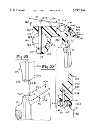 patent us5947546 apparatus for attaching a soft top to a motor