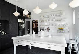 cuisine et blanc photos osez la décoration noir et blanc pour votre cuisine