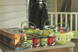 wars party favors wars birthday party with jedi academy