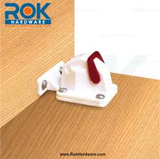 rev a lock cabinet door security safety latch catch with magnetic key