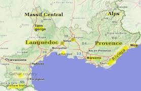 map of perpignan region the south of an essential travel guide