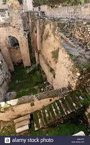 House Meaning by Israel Jerusalem The Pool Of Bethesda Meaning House Of Mercy Was A