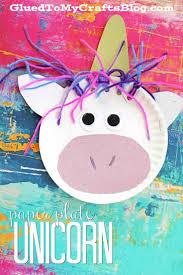 paper plate unicorn kid craft unicorns craft and activities