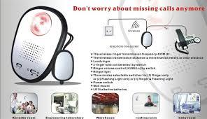 visual phone ringer light wireless loud ringer light box