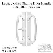 Sliding Patio Door Handles With Lock Sliding Glass Door Handle Center Locking Thumb Turn