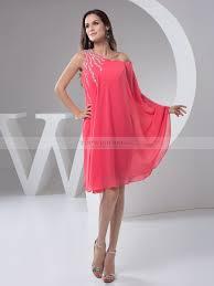 grecian style draped chiffon party dress with beading