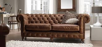 Chesterfield  Seater Vintage Leather Sofa SofaSofa Official - Chesterfield sofa uk