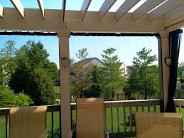 Mosquito Curtains Pergola With Mosquito Curtains Outdoor Living With Archadeck Of