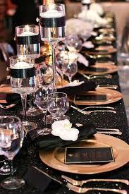 black and gold wedding ideas best 25 black tablecloth wedding ideas on black