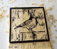 Free Wood Carving Ideas For Beginners by Printmaking Essentials Carve And Print Your Own Woodblock