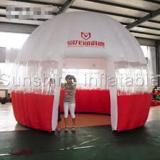 photo booth tent dome tent custom trade show portable exhibition