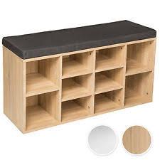 shoe storage bench ebay