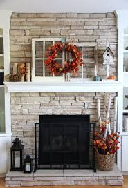 best 25 fall fireplace decor ideas on place