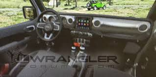 Jeep Wrangler First Look Production Interior Of The 2018 Jeep Wrangler Jl Jlu