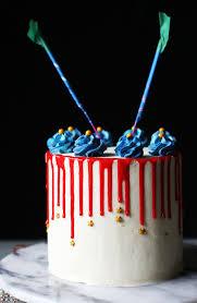 wonder woman funfetti cake