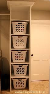 Shelf Ideas For Laundry Room - best 25 laundry basket storage ideas on pinterest laundry room