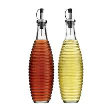 amazon com home essentials oil and vinegar cruets olive oil