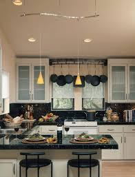 Kitchen Hanging Pot Rack by Cast Iron Hanging Pot Racks Kitchen Farmhouse With Skylight
