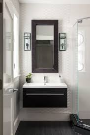 Narrow Wall Mirror Narrow Mirror Bathroom Contemporary With Textured Wall Tile Square