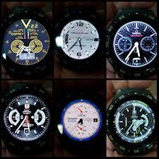 kingwear kw88 zooper pro alternative watch faces clock faces