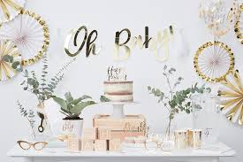 white and gold baby shower white gold baby shower ideas party delights