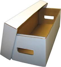 10 bcw bx media dvd book cardboard storage boxes