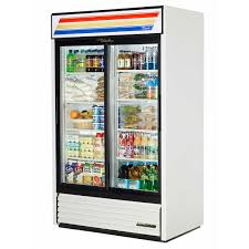true sliding glass door refrigerator