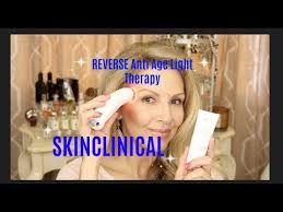 skinclinical reverse light therapy anti aging device reviews skinclinical reverse anti aging light therapy surprise youtube