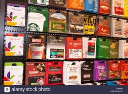 gift card display gift cards stock photos gift cards stock images alamy