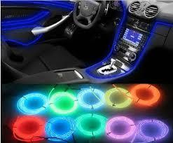 Accessories For Cars Interior Car Accessories Interior Flexible Neon Light Atmosphere Lamp El
