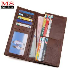 designer handy aliexpress buy ms qiusha genuine leather wallets