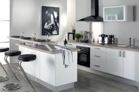 cuisine design blanche cuisine équipée blanche modèle design mat monza la cuisi flickr