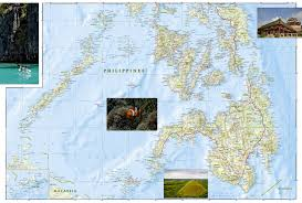 Phillipines Map Philippines National Geographic Adventure Map National