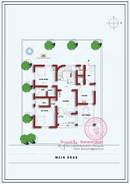 villa house plans modern design exterior single floor hahnow