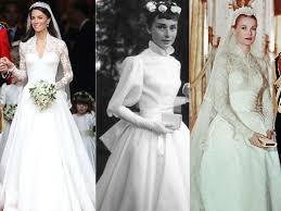 hepburn style wedding dress the most iconic wedding dresses of all