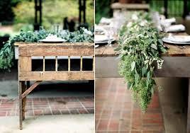 picture of spring rustic garden wedding ideas