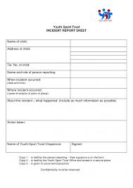 employee incident report templates employee incident report sle professional and high quality