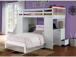 Bookcase With Ladder by Freya Loft Bunk Bed W Bookcase Ladder Chest U0026 Desk White Top